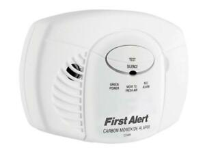First Alert® 2107735 Carbon Monoxide Alarm - AA Batteries 2107735