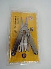 NEW Leatherman 832563 Wave Plus 18-in-1 Multi-Purpose Tool Black Nylon Sheath B3