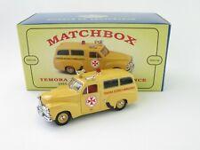 Matchbox Models Of Yesteryear YHN01/SB Holden FJ/2104 Temora District Ambulance