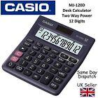 CASIO MJ120D MJ-120D DESKTOP CALCULATOR -12 digit display,150 step recheck