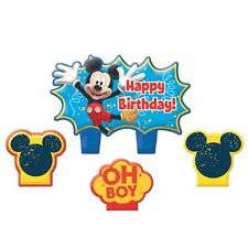 Mickey Mouse Clubhouse Birthday 4 pc Candle Set Cake Topper Party