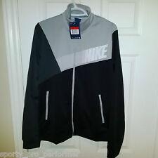 DS Nike Colorblock Track Jacket Mens Large BNWT Black/Grey