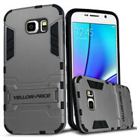 FOR SAMSUNG GALAXY Note 5 Shockproof protective Armor Case KickStand Cover Dual