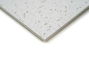 Pack of 10 x Lovely Worn Office Acoustic Suspended Ceiling Tiles 595mm x 595mm