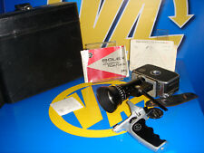 Camera Super 8 Paillard Bolex P1 Zoom Reflex 8mm Movie with suitcase