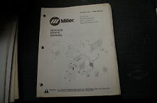 Miller Welder MAXSTAR 150 GENERATOR Owner Parts Manual book catalog list spare