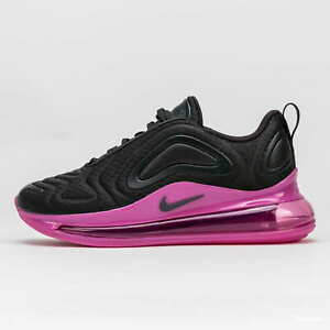 Nike Air Max 720 Off Noir Black Fuchsia Pink AQ3196-017 7Y / 8.5 Women's Running