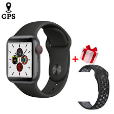 Watch Series 5 GPS 44mm Space Gray Aluminum Case Black Sport Band for apple
