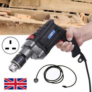 2000W Heavy Duty Impact Drill Corded Electric Hammer Screwdriver Bit Set w/ CASE