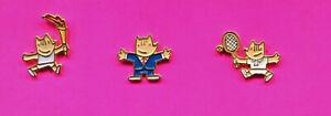 1992 OLYMPIC PIN LOT # 3 BUY 1-2-3-ADD TO CART COBI MASCOT PINS