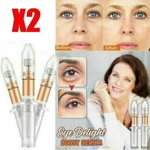 2xUK Magic Eye Cream 2 Minutes Instant Remove Eyebags Firming Eye Anti Puffiness