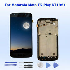 For Motorola Moto E5 Play XT1921 LCD Display Touch Screen Assembly + Frame
