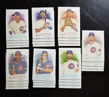 2016 Topps Allen & Ginter Chicago Cubs team set x4 - 56 cards