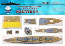 Chantier Naval 1/700 700046 Wood Deck IJN Nagato pour Aoshima