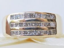 Genuine 1.00ct Diamond Ring In 18K Solid Yellow Gold