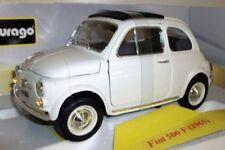 Voitures, camions et fourgons miniatures blancs pour Fiat 1:18