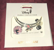 Disney Parks Alex and Ani Dumbo Don't Just Fly, Soar Silver Bracelet Set NEW
