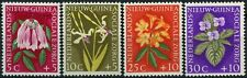 Netherlands New Guinea 1959 SG#63-66 Social Welfare Flowers MNH Set #E13740
