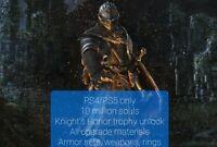 Dark Souls Remastered Item Drop & Knight's Honor Trophy (PS4/PS5)
