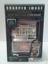 Sharper Image Slot Machine coin bank - New in the Box !!