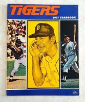 1971 DETROIT TIGERS Yearbook Billy Martin Horton Kaline Cash Lolich Super Clean