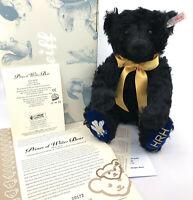 Steiff Charles Prince of Wales Teddy Bear 60th Birthday Mohair 2008 LE Box Cert