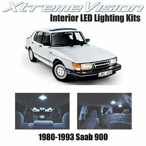 XtremeVision Interior LED for Saab 900 1980-1993 (6 PCS) Cool White