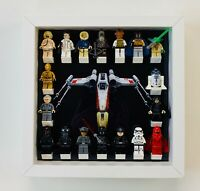 Minifigure Display Case Frame Lego Star Wars xWing mini figures Picture range