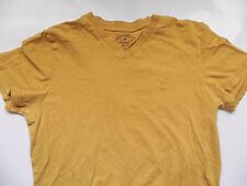 American Eagle~Athletic Fit~Mustard Yellow Gold T-Shirt size XS