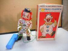 Frankonia Toys Happy n' Sad Magic Face Cymbal Clown, NIB, OLD, Rare, Radio Contr