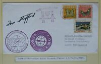s1376) Raumfahrt Space Apollo - Soyuz Tracking Quito Ecuador / Autopen Stafford
