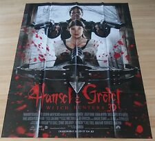 AFFICHE CINEMA 8000 - HANSEL ET GRETEL - WITCH HUNTERS - 120/160