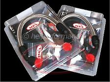 Honda Blackbird CBR1100XX 99-07 EFI Hel Oil Cooler Lines Pair