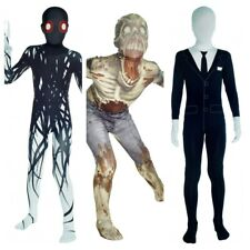 Genuine Halloween Morphsuit Slenderman Zombie Zalgo Ages 8-12 Years BNIP Kids