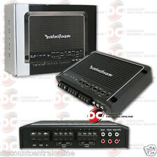 ROCKFORD FOSGATE R400-4D CAR AUDIO 4-CHANNEL AMPLIFIER 400W RMS