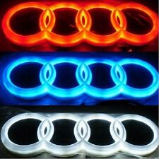 4D Car LED Real Logo Light Auto Badge Rear Emblems Lamp For AUDI A3 A4 A6 Q3 Q5