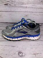 Brooks Mens Adrenaline GTS 16 Sliver Blue Running Shoes Size US 8 D