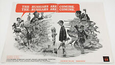 THE RUSSIANS ARE COMING!__Original 1966 Trade AD promo / poster__EVA MARIE SAINT