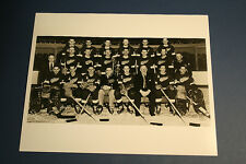Detroit Red Wings Vintage 1957-1958 Team 8x10 Photo with Gordie Howe