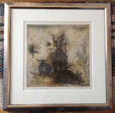 Pintura Paisaje paisaje Aagaard de Taormina enmarcado impresión 9x7 pulgadas