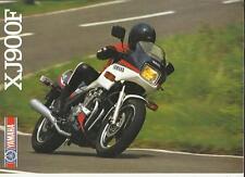 YAMAHA XJ900F MOTORBIKE SALES BROCHURE 1985