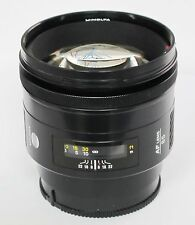 Minolta 85mm f/1.4 AF Lens for Sony/Minolta A Mount boxed