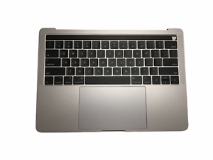OEM New MacBook Pro A1989 18/19 Keyboard Top Case Key with Battery Space Gray