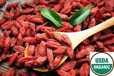 USDA CERTIFIED ORGANIC GOJI BERRIES AAA++ RAW 1 LB FROM QINGHAI WOLFBERRY BERRY