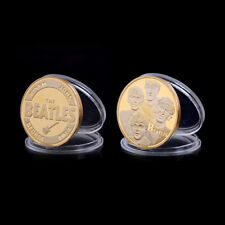 New The Beatles Gold Commemorative Coins Precious Collections EV