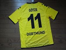 Dortmund #11 Gotze 100% Original Jersey Shirt M 2011/12 Home Still BNWT NEW Rare