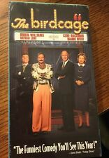 The Birdcage (VHS, 1998, Contemporary Classics). Sealed