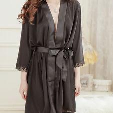 Sexy Lingerie Evening Dress Lace Sleepwear V-neck Nightdress Nightgowns