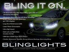 Chevrolet Spark White LED DRL Head Light Strips Day Time Running Lamps Kit Pair
