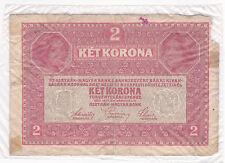 Austria, 2 corone, 1917, Austria 2 KORONA